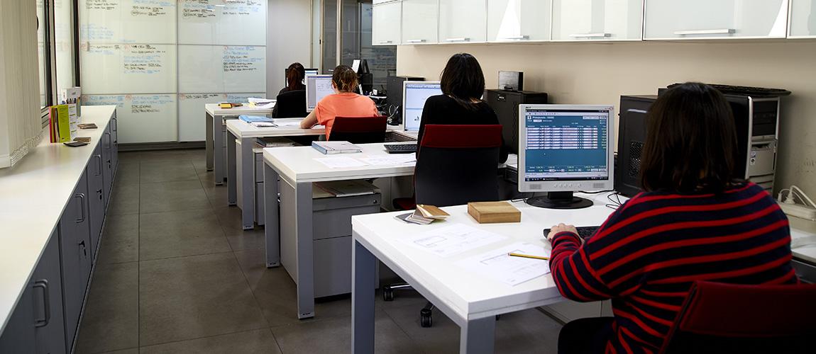 bodelec oficinas y  equipo técnico