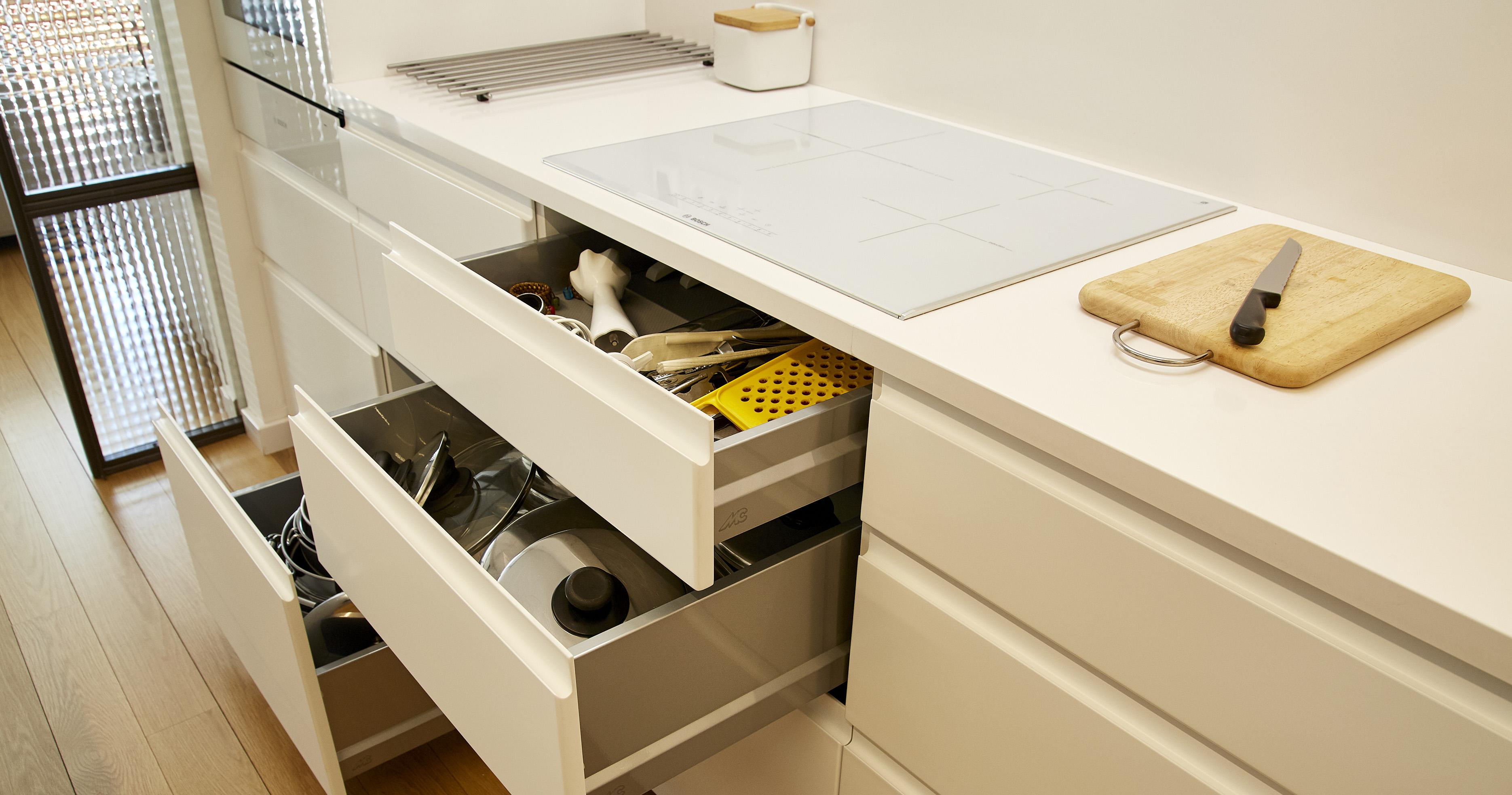 Indicaciones específicas según el tipo de superficie exterior de tus muebles de cocina