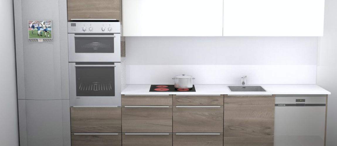 bodelec personalización para obra nueva y promotor cocina Ebro nogal